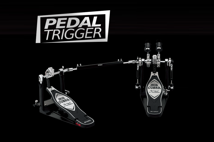 Pedaltrigger® – TAMA Iron Cobra Power Glide Twin Pedal HP900PWN