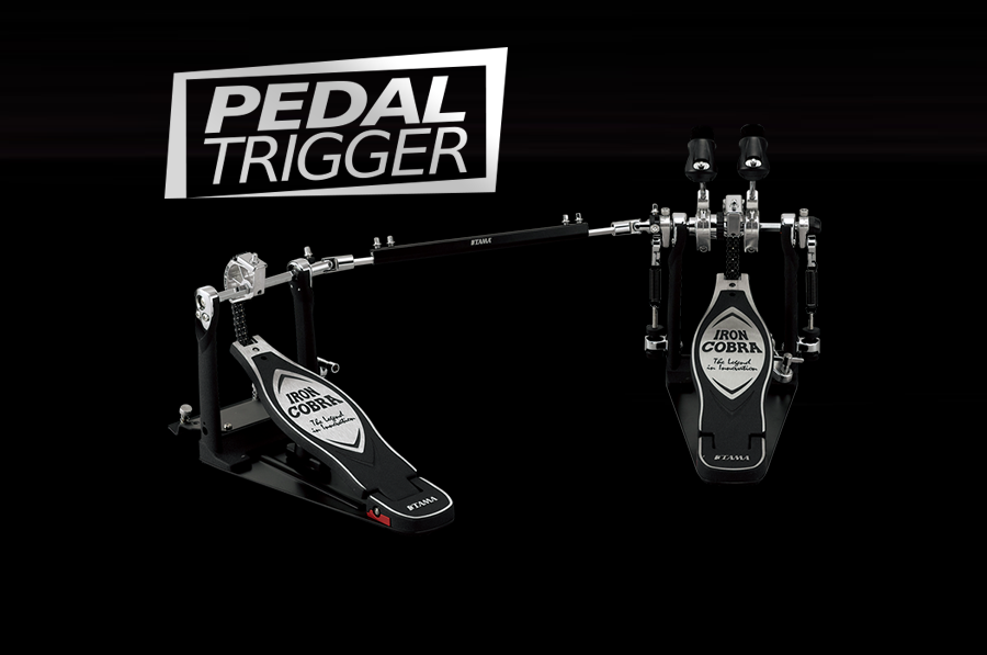 Pedaltrigger® – TAMA Iron Cobra Rolling Glide Twin Pedal HP900RWN