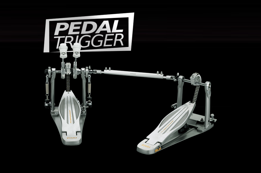 Pedaltrigger® – TAMA Speed Cobra Left-Footed Twin Pedal HP910LWLN