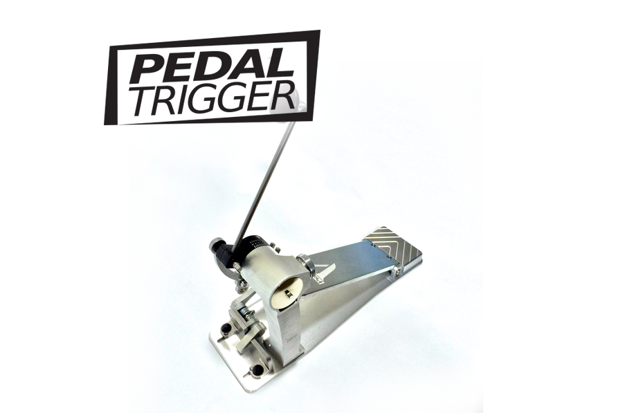 Pedaltrigger® – Trick Pro 1-V. Single Pedal with Chain or Direct options