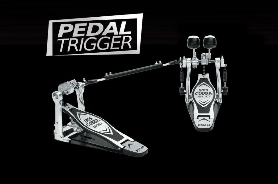 Pedaltrigger® – TAMA Iron Cobra Twin Pedal 200